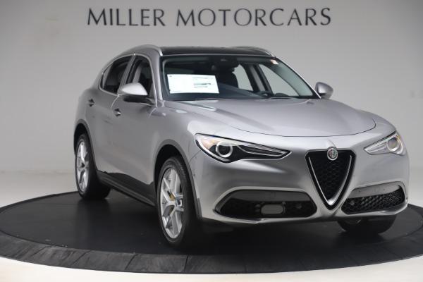 New 2019 Alfa Romeo Stelvio Ti Lusso Q4 for sale Sold at Pagani of Greenwich in Greenwich CT 06830 11