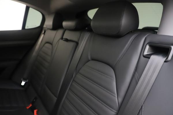 New 2019 Alfa Romeo Stelvio Ti Lusso Q4 for sale Sold at Pagani of Greenwich in Greenwich CT 06830 18