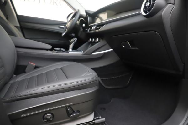 New 2019 Alfa Romeo Stelvio Ti Lusso Q4 for sale Sold at Pagani of Greenwich in Greenwich CT 06830 23