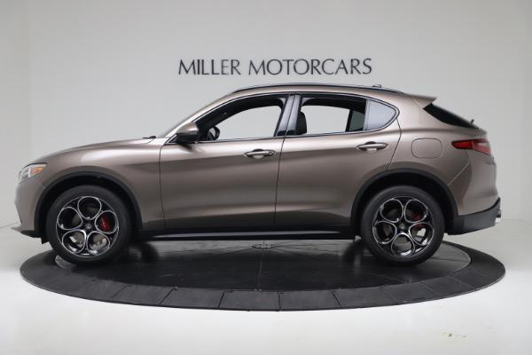 New 2019 Alfa Romeo Stelvio Ti Sport Q4 for sale Sold at Pagani of Greenwich in Greenwich CT 06830 3