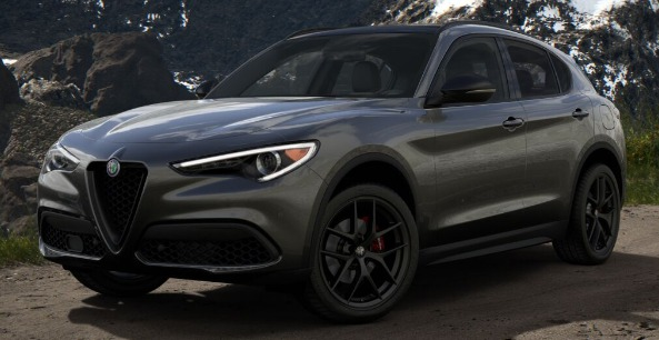 New 2019 Alfa Romeo Stelvio Ti Sport Q4 for sale Sold at Pagani of Greenwich in Greenwich CT 06830 1