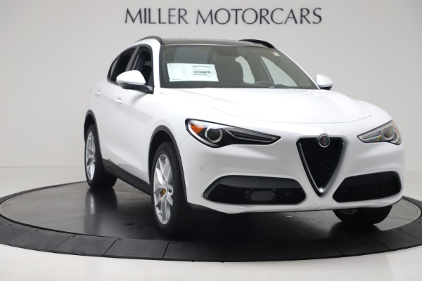 New 2019 Alfa Romeo Stelvio Ti Sport Q4 for sale Sold at Pagani of Greenwich in Greenwich CT 06830 11
