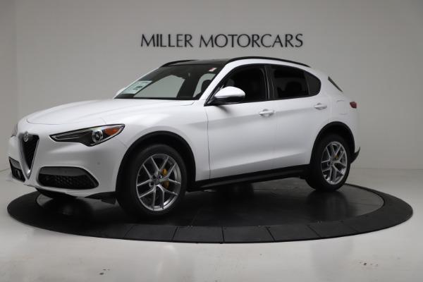 New 2019 Alfa Romeo Stelvio Ti Sport Q4 for sale Sold at Pagani of Greenwich in Greenwich CT 06830 2