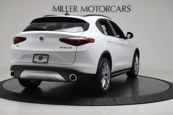 New 2019 Alfa Romeo Stelvio Ti Sport Q4 for sale Sold at Pagani of Greenwich in Greenwich CT 06830 7