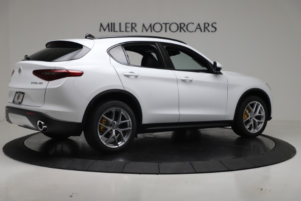 New 2019 Alfa Romeo Stelvio Ti Sport Q4 for sale Sold at Pagani of Greenwich in Greenwich CT 06830 8