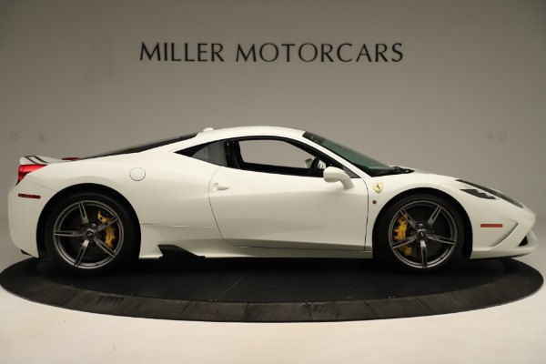 Used 2014 Ferrari 458 Speciale Base for sale Sold at Pagani of Greenwich in Greenwich CT 06830 9