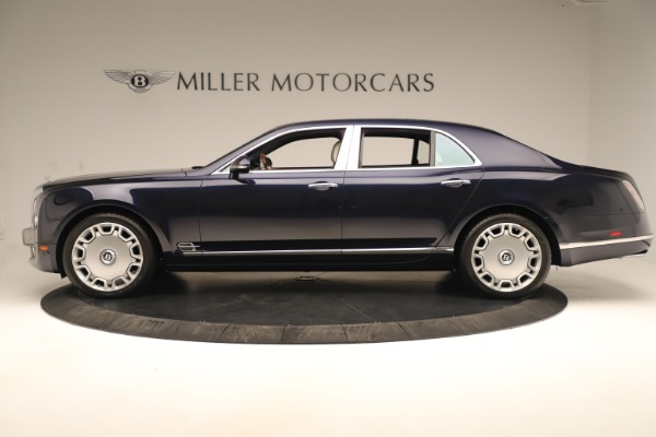 Used 2016 Bentley Mulsanne for sale Sold at Pagani of Greenwich in Greenwich CT 06830 3
