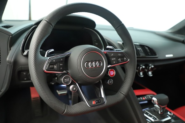 Used 2018 Audi R8 5.2 quattro V10 Plus for sale Sold at Pagani of Greenwich in Greenwich CT 06830 21