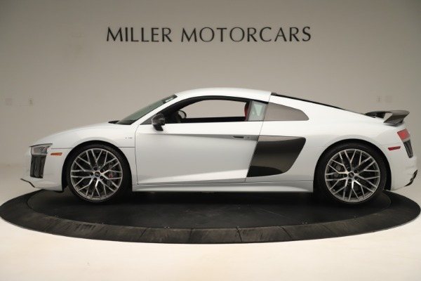 Used 2018 Audi R8 5.2 quattro V10 Plus for sale Sold at Pagani of Greenwich in Greenwich CT 06830 3