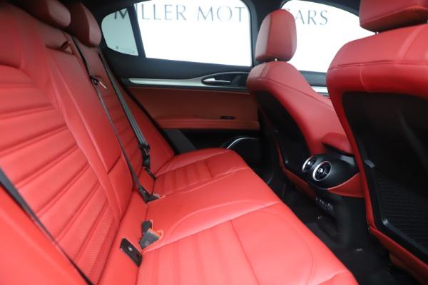 New 2019 Alfa Romeo Stelvio Ti Sport Q4 for sale Sold at Pagani of Greenwich in Greenwich CT 06830 27