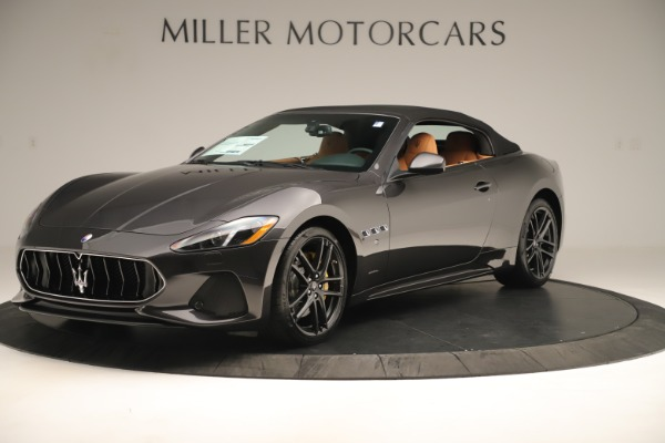 New 2019 Maserati GranTurismo Sport Convertible for sale $161,695 at Pagani of Greenwich in Greenwich CT 06830 13