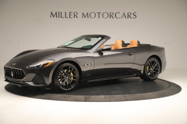 New 2019 Maserati GranTurismo Sport Convertible for sale $163,845 at Pagani of Greenwich in Greenwich CT 06830 2