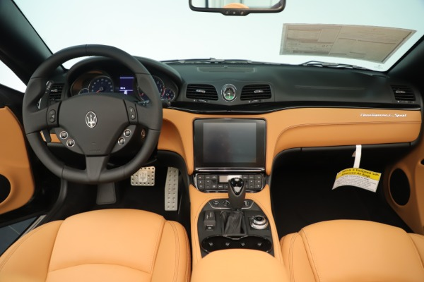 New 2019 Maserati GranTurismo Sport Convertible for sale $161,695 at Pagani of Greenwich in Greenwich CT 06830 22