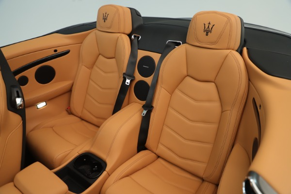 New 2019 Maserati GranTurismo Sport Convertible for sale $161,695 at Pagani of Greenwich in Greenwich CT 06830 23