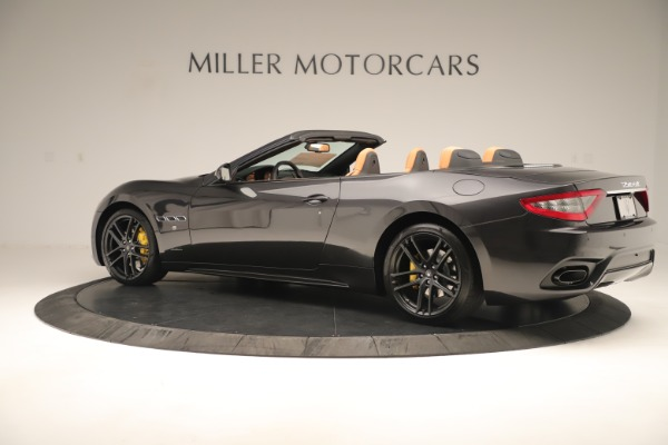 New 2019 Maserati GranTurismo Sport Convertible for sale $161,695 at Pagani of Greenwich in Greenwich CT 06830 4