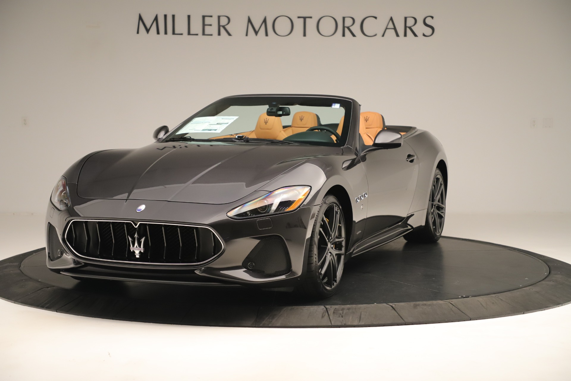 New 2019 Maserati GranTurismo Sport Convertible for sale $161,695 at Pagani of Greenwich in Greenwich CT 06830 1