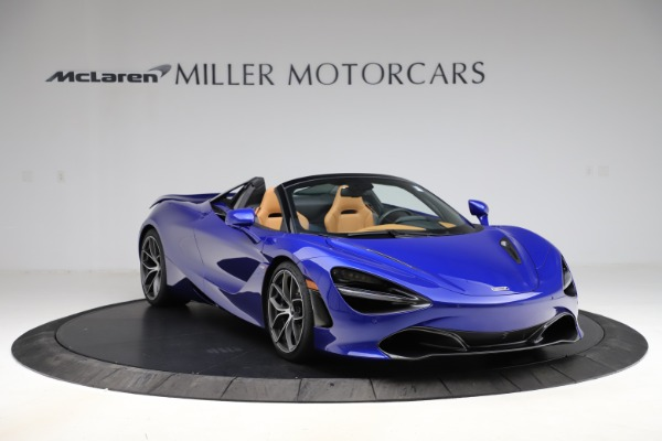 New 2020 McLaren 720S SPIDER Convertible for sale $374,830 at Pagani of Greenwich in Greenwich CT 06830 11