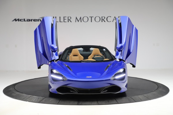 New 2020 McLaren 720S SPIDER Convertible for sale $374,830 at Pagani of Greenwich in Greenwich CT 06830 13