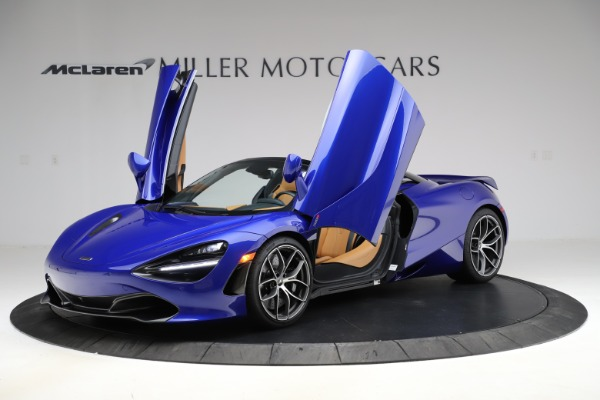 New 2020 McLaren 720S SPIDER Convertible for sale $374,830 at Pagani of Greenwich in Greenwich CT 06830 14