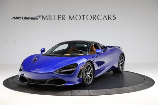 New 2020 McLaren 720S SPIDER Convertible for sale $374,830 at Pagani of Greenwich in Greenwich CT 06830 16