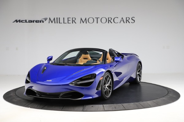 New 2020 McLaren 720S SPIDER Convertible for sale $374,830 at Pagani of Greenwich in Greenwich CT 06830 2
