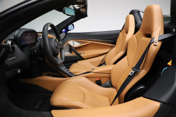 New 2020 McLaren 720S SPIDER Convertible for sale $374,830 at Pagani of Greenwich in Greenwich CT 06830 23
