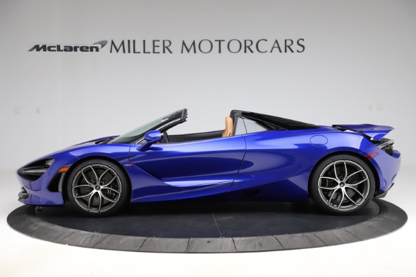 New 2020 McLaren 720S SPIDER Convertible for sale $374,830 at Pagani of Greenwich in Greenwich CT 06830 3