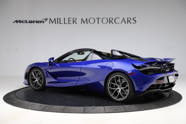 New 2020 McLaren 720S SPIDER Convertible for sale $374,830 at Pagani of Greenwich in Greenwich CT 06830 4