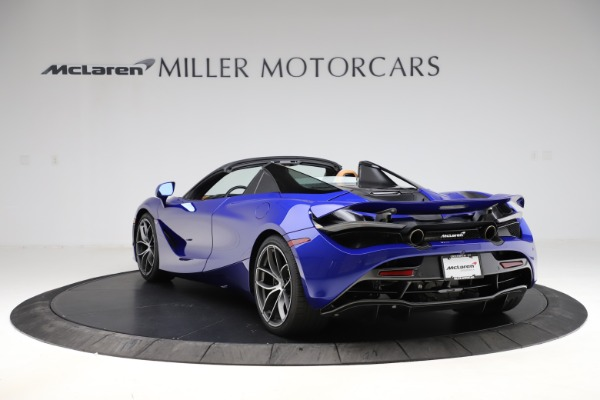 New 2020 McLaren 720S SPIDER Convertible for sale $374,830 at Pagani of Greenwich in Greenwich CT 06830 5