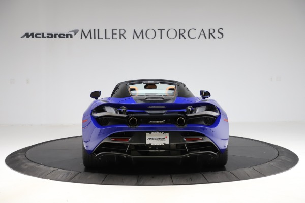 New 2020 McLaren 720S SPIDER Convertible for sale $374,830 at Pagani of Greenwich in Greenwich CT 06830 6