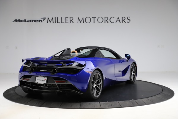 New 2020 McLaren 720S SPIDER Convertible for sale $374,830 at Pagani of Greenwich in Greenwich CT 06830 7