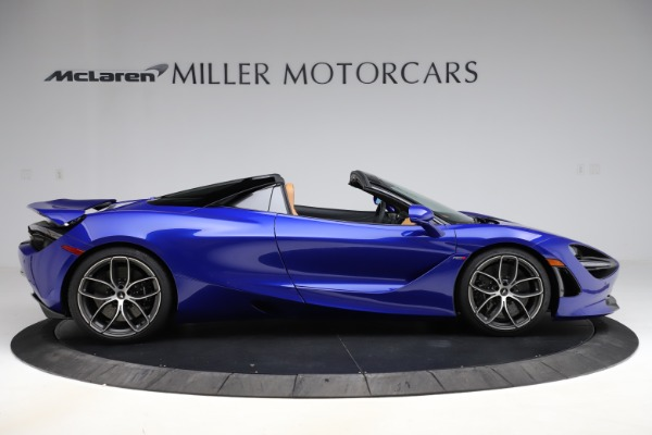 New 2020 McLaren 720S SPIDER Convertible for sale $374,830 at Pagani of Greenwich in Greenwich CT 06830 9
