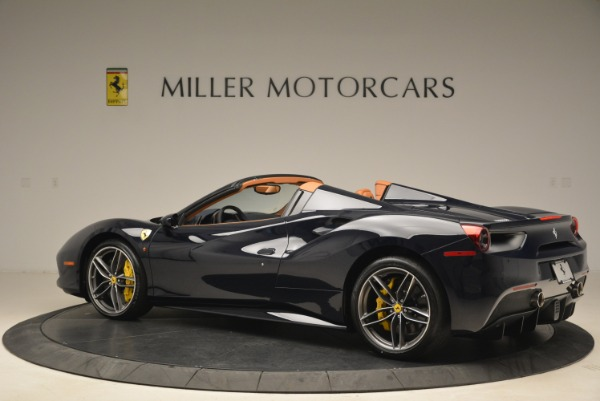 Used 2018 Ferrari 488 Spider for sale Sold at Pagani of Greenwich in Greenwich CT 06830 4