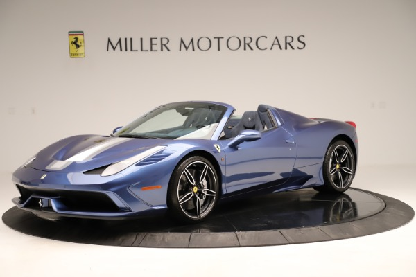 Used 2015 Ferrari 458 Speciale Aperta for sale Sold at Pagani of Greenwich in Greenwich CT 06830 2