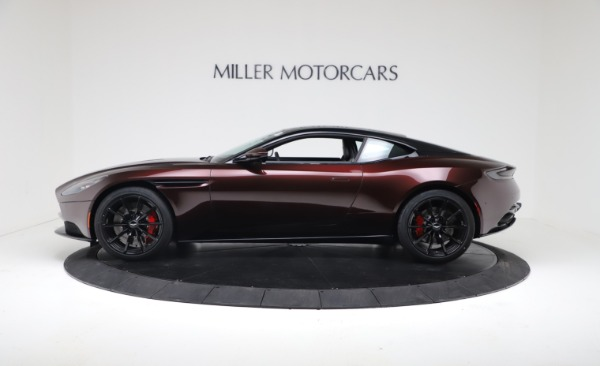 New 2019 Aston Martin DB11 V12 AMR Coupe for sale Sold at Pagani of Greenwich in Greenwich CT 06830 3