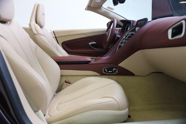 Used 2020 Aston Martin DB11 Volante for sale $217,900 at Pagani of Greenwich in Greenwich CT 06830 25
