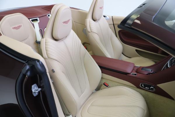 Used 2020 Aston Martin DB11 Volante for sale $217,900 at Pagani of Greenwich in Greenwich CT 06830 26