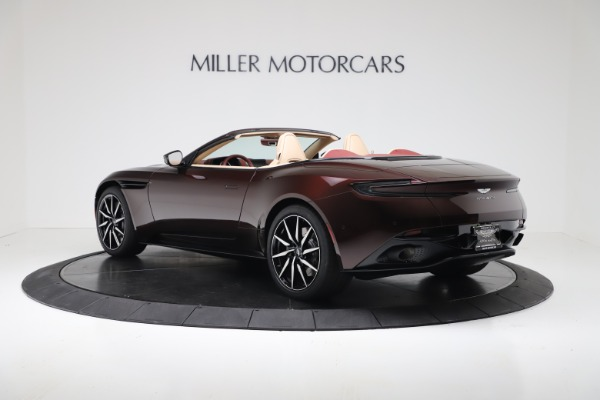 New 2020 Aston Martin DB11 Volante Convertible for sale Sold at Pagani of Greenwich in Greenwich CT 06830 4