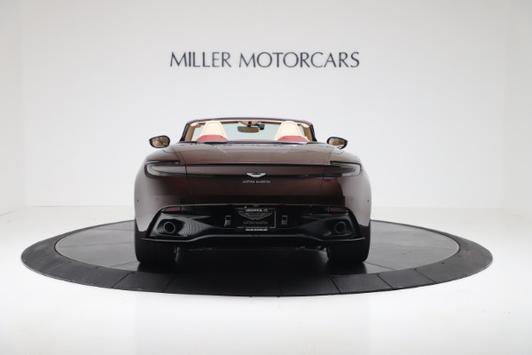 Used 2020 Aston Martin DB11 Volante Convertible for sale $223,900 at Pagani of Greenwich in Greenwich CT 06830 5