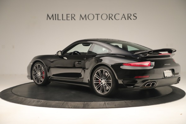 Used 2014 Porsche 911 Turbo for sale Sold at Pagani of Greenwich in Greenwich CT 06830 4