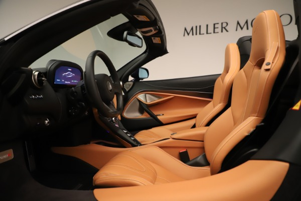 New 2020 McLaren 720S Spider Convertible for sale $372,250 at Pagani of Greenwich in Greenwich CT 06830 17