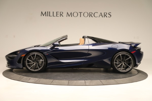 New 2020 McLaren 720S Spider Convertible for sale $372,250 at Pagani of Greenwich in Greenwich CT 06830 2