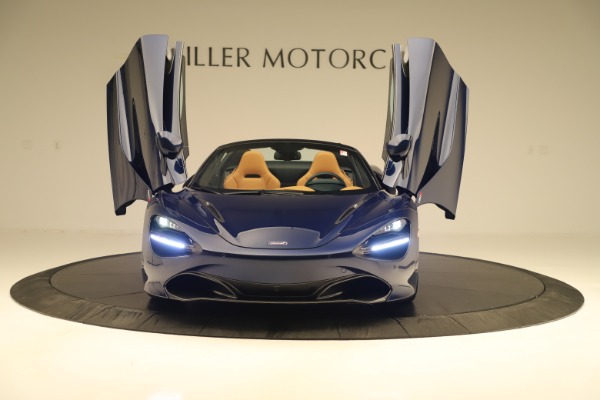 New 2020 McLaren 720S Spider Convertible for sale $372,250 at Pagani of Greenwich in Greenwich CT 06830 27