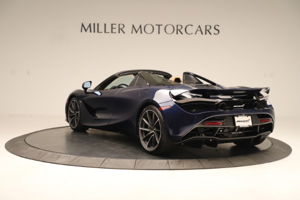 New 2020 McLaren 720S Spider for sale $372,250 at Pagani of Greenwich in Greenwich CT 06830 3