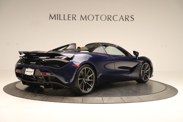 New 2020 McLaren 720S Spider for sale $372,250 at Pagani of Greenwich in Greenwich CT 06830 4