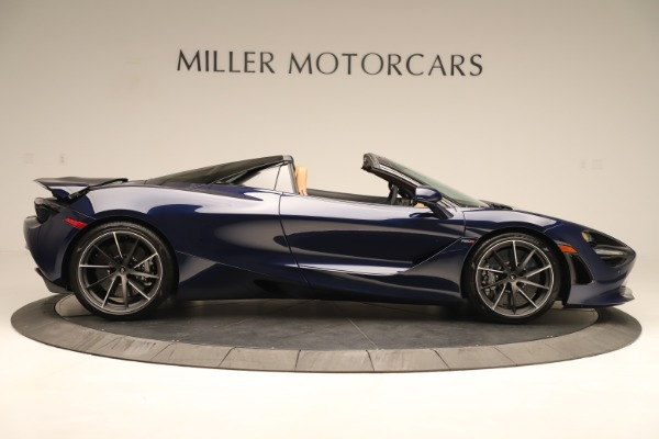 New 2020 McLaren 720S Spider for sale $372,250 at Pagani of Greenwich in Greenwich CT 06830 5