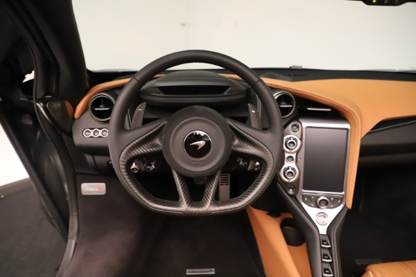 New 2020 McLaren 720S Spider for sale $372,250 at Pagani of Greenwich in Greenwich CT 06830 9