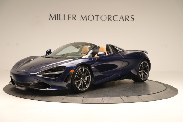 New 2020 McLaren 720S Spider Luxury for sale $372,250 at Pagani of Greenwich in Greenwich CT 06830 1