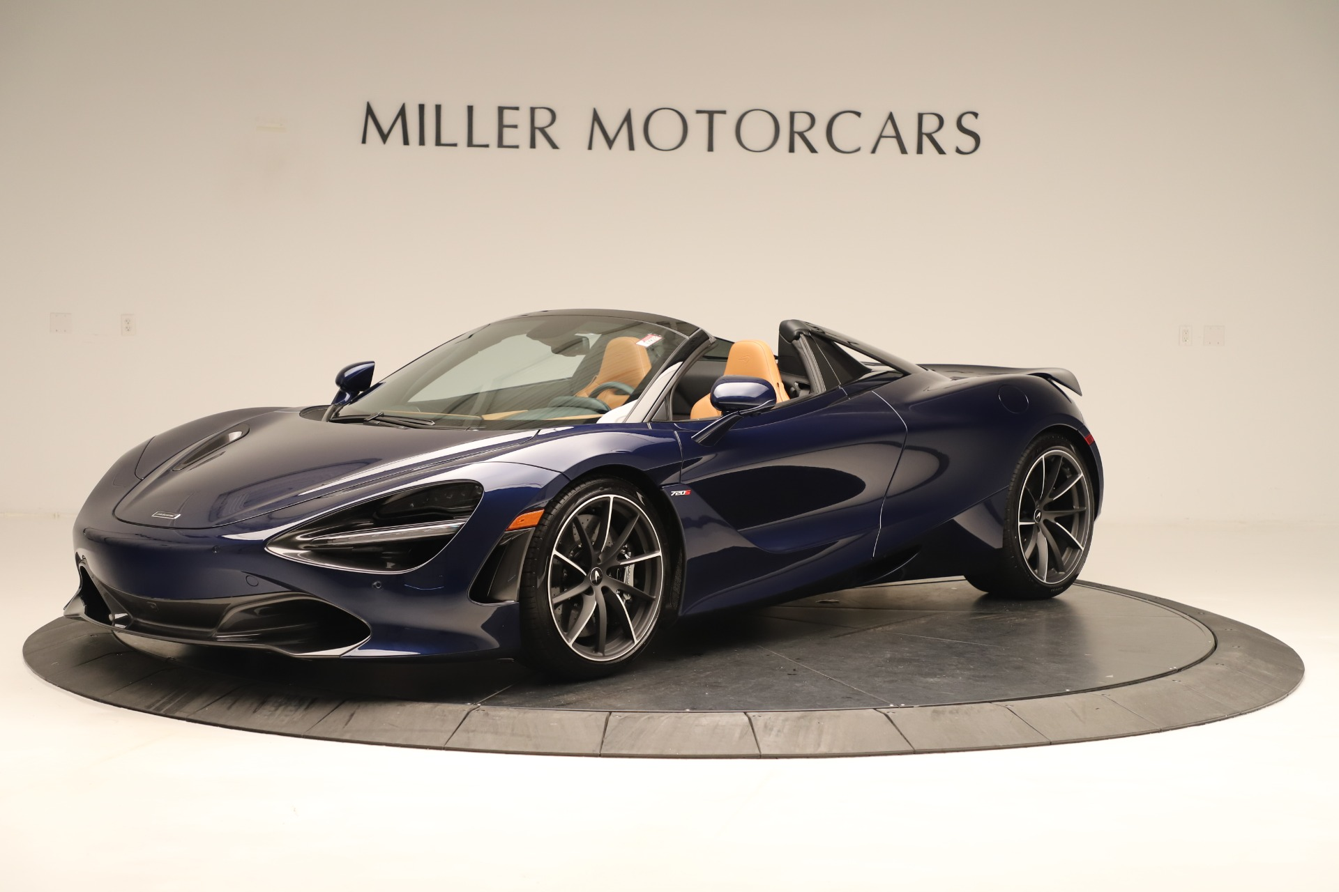 New 2020 McLaren 720S Spider for sale $372,250 at Pagani of Greenwich in Greenwich CT 06830 1