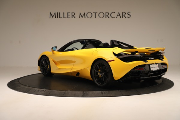 New 2020 McLaren 720S SPIDER Convertible for sale $385,690 at Pagani of Greenwich in Greenwich CT 06830 12